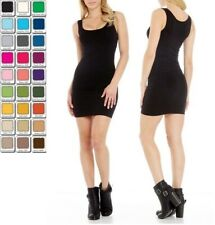 M-Rena Scoop neck Layering Tank Dress.* Bra friendly super soft fabric One size