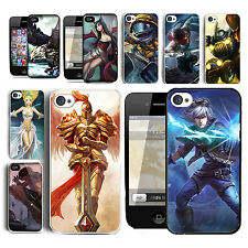 New Fashion League of Legends Champions Hard Case Skin For iPhone4 4S 5 5S