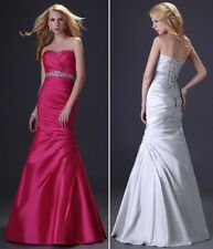 Sexy Silm Celebrity Dress Wedding Bridesmaids Evening gown Homecoming Prom dress