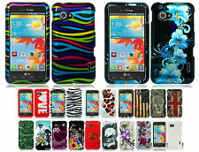 For Verizon LG Enact VS890 HARD Protector Case Snap On Phone Cover Accessory