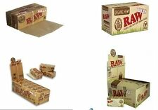 RAW Rolling Rolls Cigarette Paper ***Organic hemp & Clasic***1-2-5-full box****