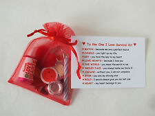 Novelty Survival Kit Fun Gift Present Boyfriend Girlfriend Fiance Husband Wife