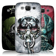 HEAD CASE METAL CHEVRON SNAP-ON BACK CASE COVER FOR SAMSUNG GALAXY S3 III I9300