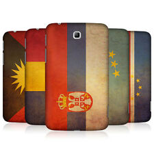 HEAD CASE VINTAGE FLAGS SET 5 BACK CASE COVER FOR SAMSUNG GALAXY TAB 3 7.0 P3200