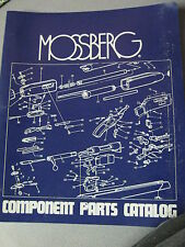 Mossberg Owner Manual Parts List Center Fire Rifles 800, 810, RM 7, 472-PCA