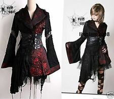 Kawaii Kera Gothic Lolita Kimono dress+Belt+underskirt 3 pcs whole set BR S-L