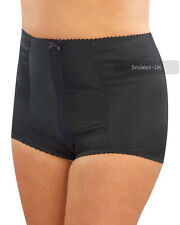 Ladies Extra Firm Control Body Shaper Briefs Girdles Rib Detail Front Panel 925