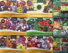 GROW YOUR OWN COLLECTION FLOWERS/VEGETABLES/HERBS GARDEN SEEDS VARIOUS TO CHOOSE