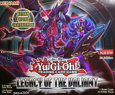YuGiOh Legacy of the Valiant LVAL Common 1st Edition New Choose from list