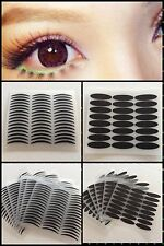 168 Pairs Wide/Narrow Double Eyelid Sticker Tape Technical Eye TapeS black