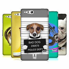 HEAD CASE DESIGNS FUNNY ANIMALS CASE COVER FOR SONY XPERIA GO ST27i