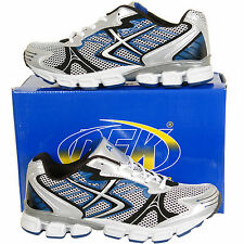 New Mens Gents Lace Up Running Sports Trainers Shoes in Size 6 7 8 9 10 11 12