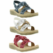 Earth Spirit Sandals Genuine Omaha Womens Summer Shoes Sizes UK 4 - 9