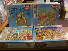 1000 PIECE JIGSAW PUZZLES NEW & SEALED. KING COMIC VARIETIES. ANIMALS FREEPOST