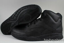 REEBOK BB4600 MID WIDE WIDTH E BLACK CLASSIC BASKETBALL LEATHER US MENS SIZES