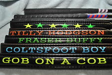 PERSONALISED EVENT/SHOW JUMPING WHIP/BAT SIX COLOURS AVAILABLE