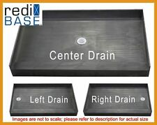 "Tile Ready Redi Base 42"" x 60"" Bathtub Replacement Shower Pan w/ Curb #4260-PVC"