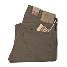 LEVI'S VINTAGE CLOTHING 519 BEDFORD CORD PANTS BROWN RRP £150