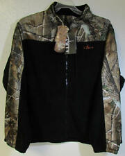Habit Realtree Camo Fleece Soft Shell Jacket Windproof NEW w/ Tags