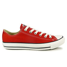 Mens Converse Chuck Taylor Oxford Lo Red Trainers