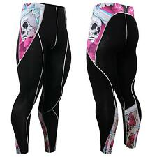 FIXGEAR P2L-B19P Compression Base layer Skin Tights MMA Workout Fitness Crossfit