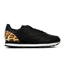 Reebok Classic Leather Beast (BLACK/WHITE/RED/LEOPARD) Men's Shoes V59397