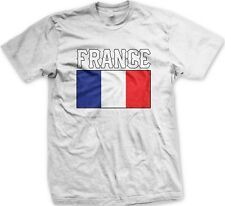 France French Flag Logo Nationality Ethnic Pride -Men's T-shirt