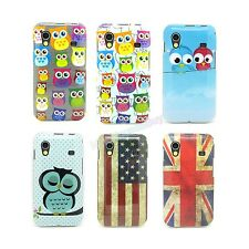 6 Type Select Owl TPU IMD Gel Soft Case Cover For Samsung Galaxy Ace S5830