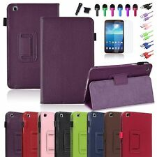 For Samsung Galaxy Tab 3 8.0 8-inch Tablet PU Leather Case Cover / Accessories