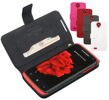 ZPSJ Book Open Flip PU Leather Wallet Case Cover For Lenovo Lephone S820