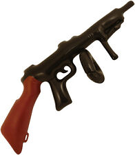 INFLATABLE TOY TOMMY GUN FANCY DRESS COSTUME 20's ACCESSORY GANGSTER MR T ARMY