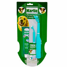 Karlie Electrical Dog Toothbrush Tooth Brush Pet Toothpaste Replacement Set Kit