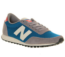 Mens New Balance 410 BLUE GREY WHITE Trainers Shoes