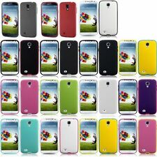 For Samsung Galaxy S4 i9500 Soft Case Premium Plastic+TPU Skin Hybrid Case Cover