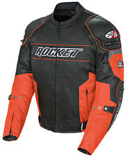 Joe Rocket AL Resistor Mens Textile Motorcycle Riding Jacket Orange / Black