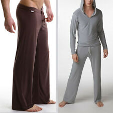 1 Men's Sheer Lounge Loose Baggy Sporting Yoga See-Through Pants Casual Trousers
