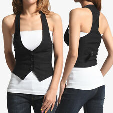 TheMogan S-3X Adjustable Back Strapped Slim Suiting Vest