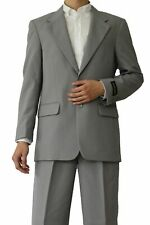 Men's basicGray suit come in 20 + colors by Milaono Moda #802P
