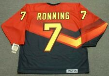 CLIFF RONNING Vancouver Canucks 1995 CCM Vintage Throwback NHL Hockey Jersey