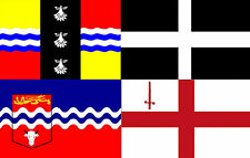 English County & City Flag, A - M, Large 5ft x 3ft, Good Quality Fabric Flags