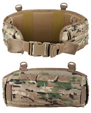 MOLLE BATTLE BELT MULTICAM MTP PADDED HIP PAD ARMY  WEBBING YOKE ATTACHMENTS