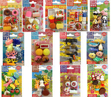 NEW TY IWAKO JAPANESE NOVELTY PUZZLE ANIMAL RUBBER ERASER SCHOOL SETS PACKS