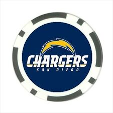 San Diego Chargers Football - Poker Chip Guard / Golf Ball Marker - FG5172