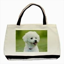 Bichon Frise Dog - Tote or Recycle Bags (9 Options) -TU4094
