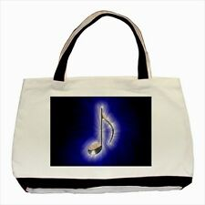 Blue Music Note - Tote or Recycle Bags (9 Options) -TU4116