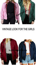 Ladies Harrington Jacket Classic Coat Brand New vintage style s,m,l,xl,xxl