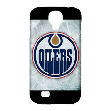 Edmonton Oilers Hockey - Silicone & Hard Case for Samsung S4 (UU5131)