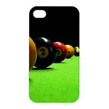 Pool Balls / Table Design -Hard Case for Apple iPhone or iPod -AB4797