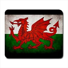 Welsh / Wales Grunge Flag - Mousepads or Coasters (8 Styles) -Bb5051
