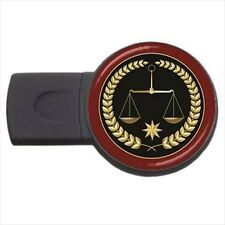 Justice in Balance Design - Round USB Flash Drive (3 Sizes) -PP4563